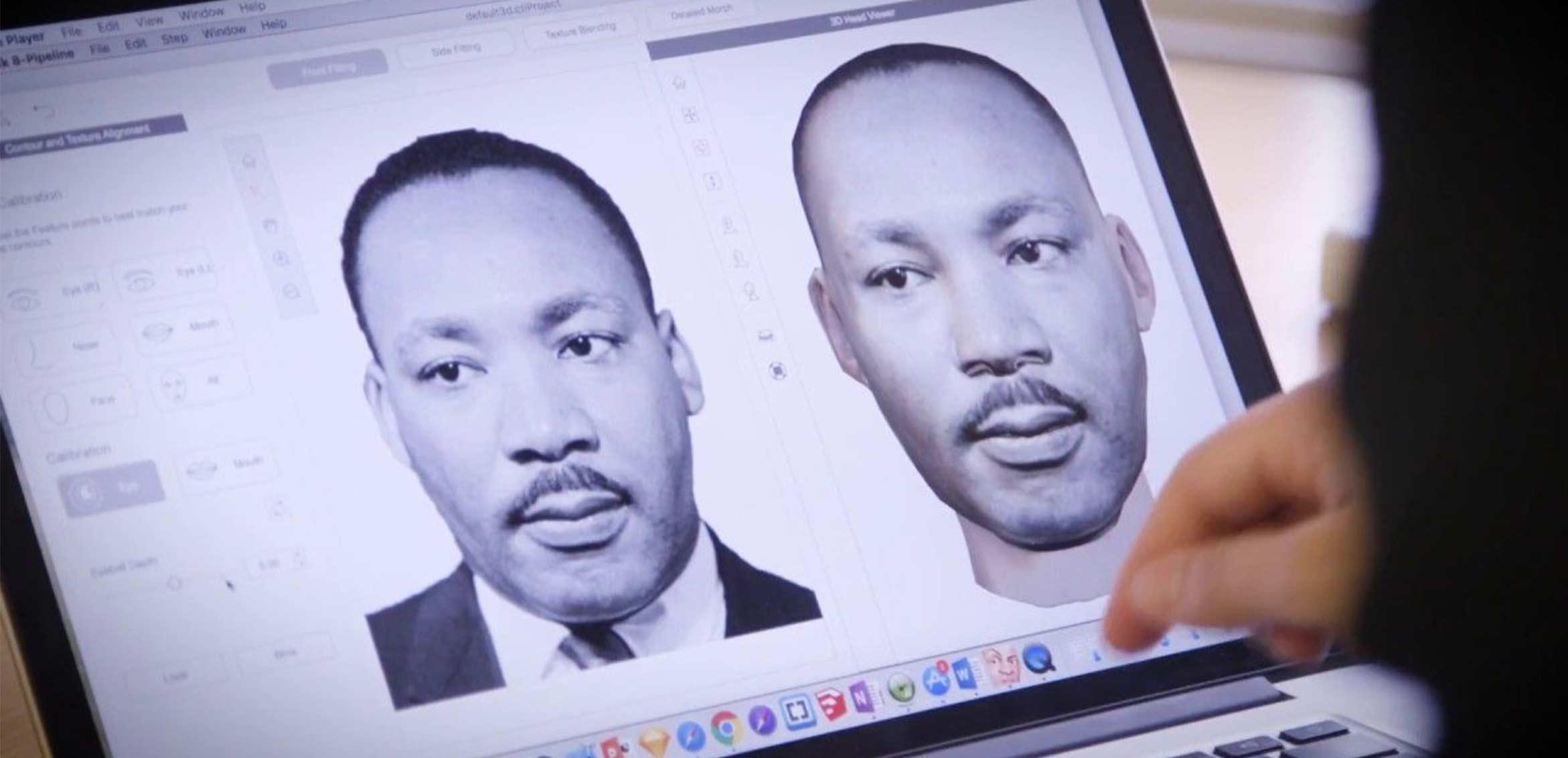 Development of MLK 3D model on computer